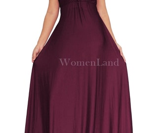 Dark purple dresses | Etsy