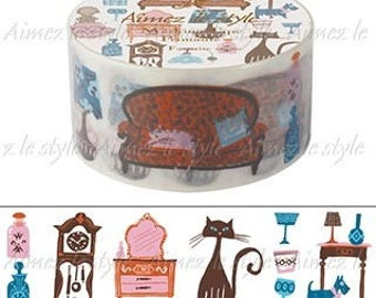 My favorite Room Aimez Le Style Washi Tape Masking Tape (A-4789) Price depends on order volume.
