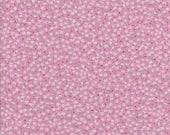 Tiny Flower Fabirc - Tiny Daisy Fabric - Pink Fabric - Sevenberry - Petite Garden - Robert Kaufman