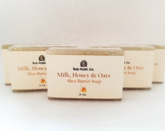 Milk, Honey & Oats Shea Butter Soap