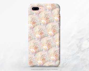 iPhone 7 Case Coral Shells iPhone 7 Plus iPhone 6s Case iPhone SE Case iPhone 6 Case iPhone 5S Case Galaxy S7 Case Galaxy S6 Case I195