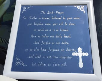 The Lord's Prayer mirror