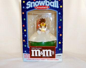 M&M's Snowball Ornament