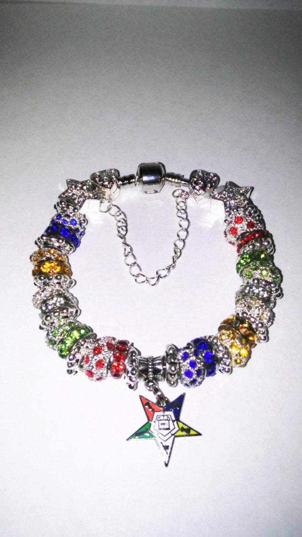 order of eastern symbol charm bracelet by zoenias on