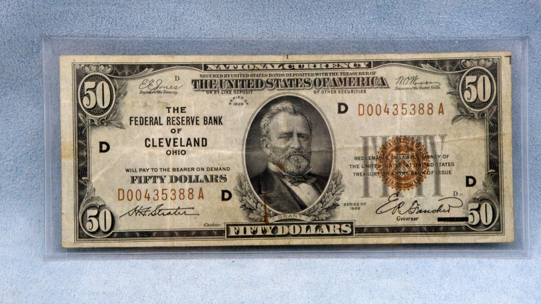 1929 Silver Certificate Dollar Bill Value