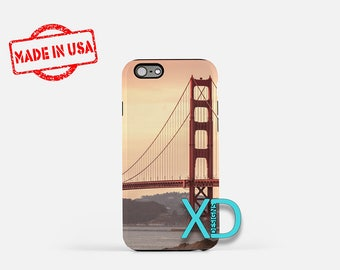 Golden Gate iPhone Case,  Bridge iPhone Case, California iPhone 8 Case, CA, iPhone 6s Case, iPhone 7 Case, Phone Case, Safe Case, SE Case