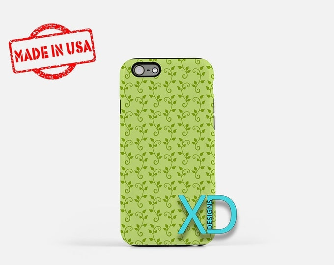 Spring Vine Phone Case, Spring Vine iPhone Case, Nature iPhone 7 Case, Green, Nature iPhone 8 Case, Spring Vine Tough Case, Clear Case