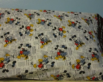 Minnie & Mickey/Love is all you need cuff/pillowcase