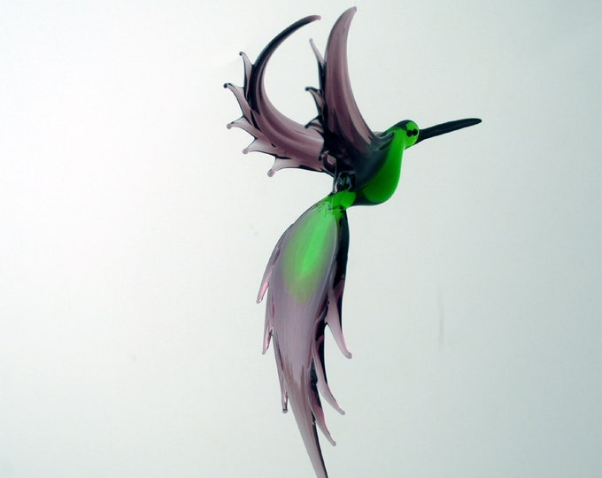 e36-210 Hummingbird Green Purple