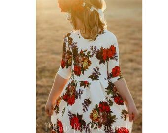 Dreamy Collection- Joy Peplum, Dress & Maxi PDF Sewing Pattern 1/2- 14
