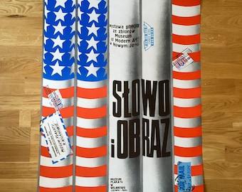 Vintage MOMA Art Exhibit Poster