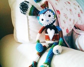 Wabbit: A Crochet Rabbit  PDF Pattern
