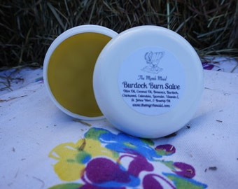 SALE!!!  4oz Burdock Burn Balm