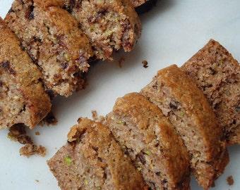 VEGAN Fresh Zucchini Bread // Vegan Bread // Coffee Cake // Healthy Snack // Gluten Free