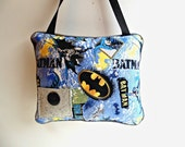 Personalized Batman Tooth Fairy Pillow, Hanging Pillow , Super Hero Tooth Fairy Pillow , Boys Super Hero Room Decor