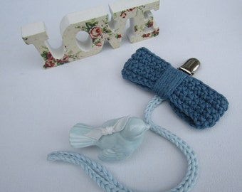 Pacifier clip, dummy clip, baby shower gift, baby pacifier clip