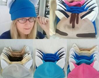 Fleece Animal Ear Winter Hat