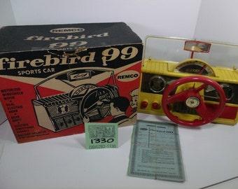 1950's Remco Firebird 99 Sports Car Dashboard