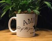America ~ 11 oz Coffee, Tea, Hot Chocolate Mug