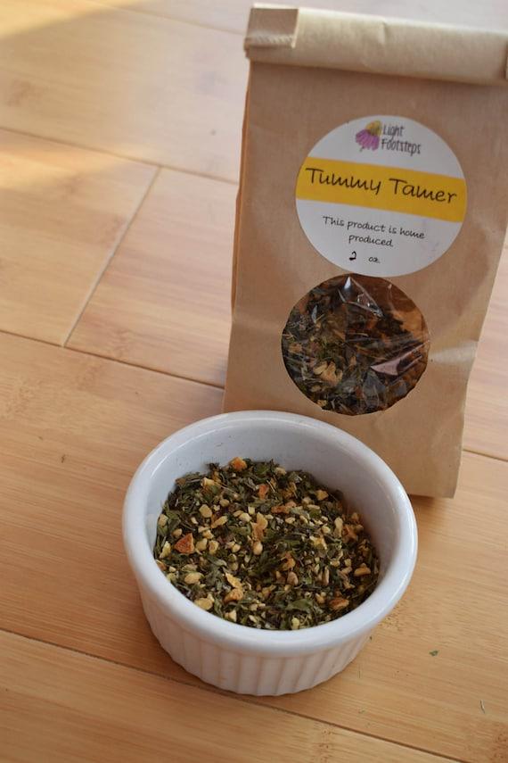 Tummy Tamer Herbal Tea ~ Organic Herbal Tea Blend - Homemade - For Ohio Customers Only
