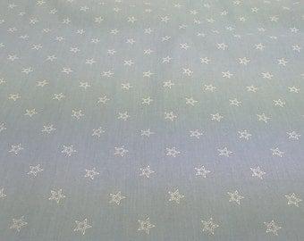 Tablecloth blue white stars Modern Scandinavian Design MOISTURE RESISTANT , napkins , runner , curtains , pillow covers , great GIFT