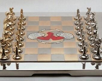 The Antropomorphic Chess Set