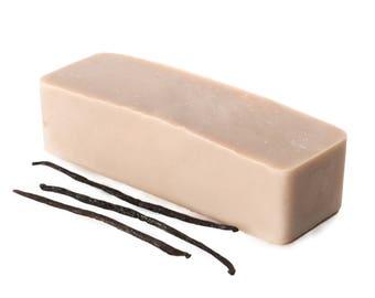 Vanilla Soap Loaf FREE SHIPPING, Wholesale Soap, Soap Favors, Bulk Soap Bulk, Natural Soap, Catile Soap, Palm Free Soap, Private Label Soap