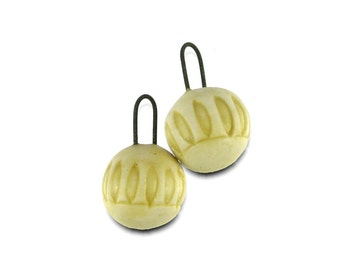 Leaf Design Earring Charm Beads Dangles Handmade in South Africa
