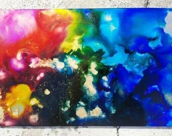 Fluid Art- Chakra Alignment