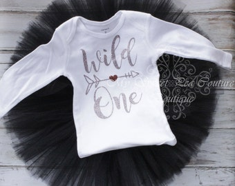 Wild One Razzle Dazzle Outfit- First Birthday Outfit- 1st Birthday Outfit- Wild One- Wild One Party- 1st Birthday- One- Cake Smash Outfit