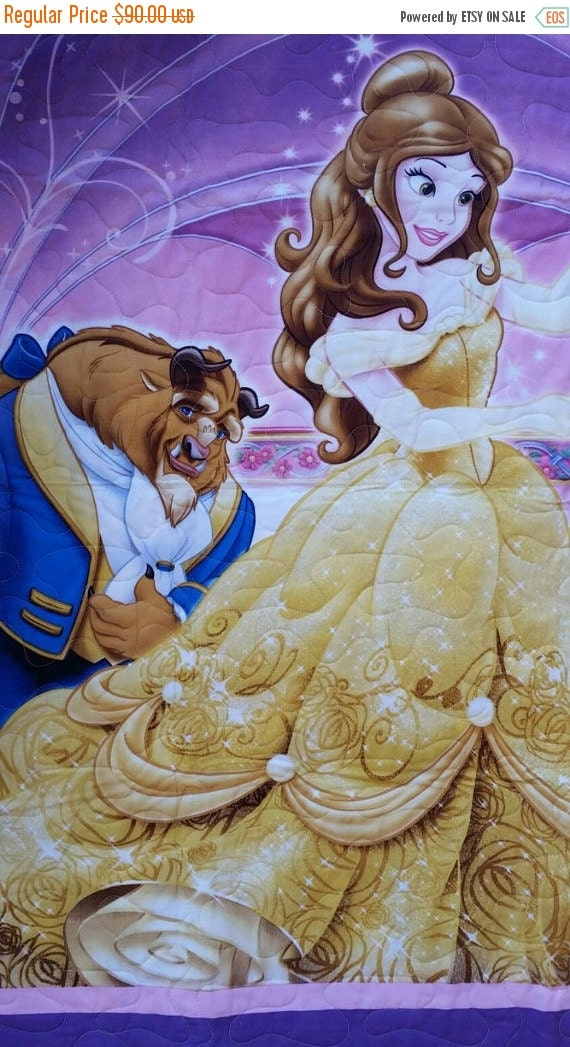 Beauty and the Beast Quilt Only by QuiltsForU2
