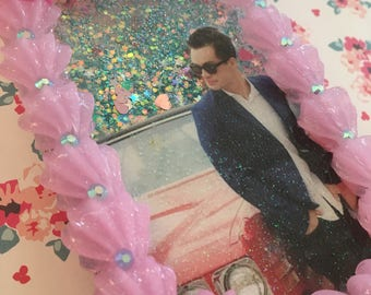 SALE!! Decoden Brendon Urie Glitter Waterfall iPhone 7/7s Case
