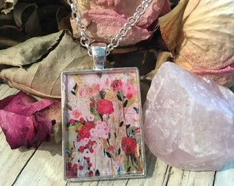 Wild Rose Necklace