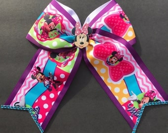 Minnie Mouse Cheerbow