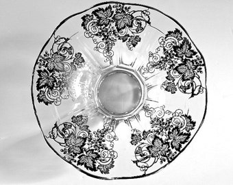 Sale Lovely Cambridge Silver Overlay Serving Bowl