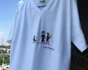 T shirt under concept Mong People