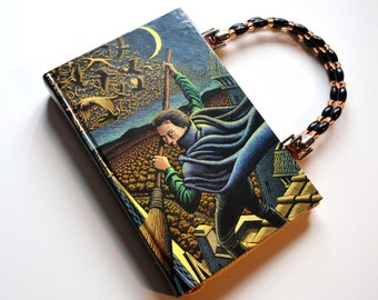 Wicked, Son of a Witch upcycled book purse