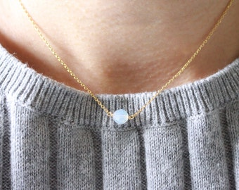 Opal Crystal necklace - Opal Crystal Choker
