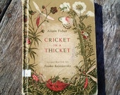 Cricket in a Thicket 1963 Aileen Fisher Illustrated by Feodor Rojankovsky Discarded Library Book GORGEOUS ILLUSTRATIONS Vintage Kids Book