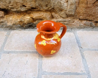 Vintage Flower Pitcher