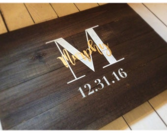 Wedding Guest List Sign-In Pallet Wood Sign