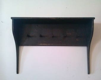 Shaker Shelf  larger style   / shelf with pegs