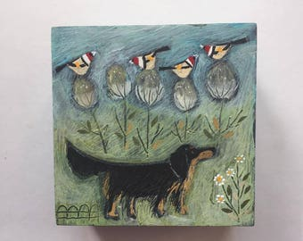 Emma and the Goldfinches