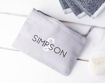 Mens Personalised Washbag - Mens Wash Bag - Custom Wash Bag - Shaving Bag - Shaving Kit Bag - Fathers Day Gift - Gift For Men - Wash Bag