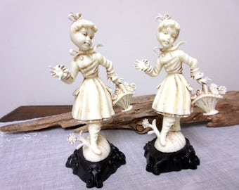 Vintage  Depose  Figurine , Made in Italy , Warrior Piper - Rare Collectible Celluloid