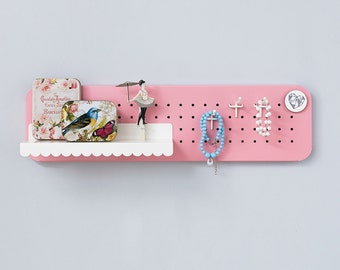 Key holder – Key Organizer - Key hooks - Entryway organizer - Entryway storage - Entryway decor - Magnetic board