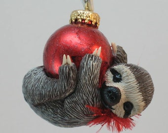 SLOTH Ornament Made to Order