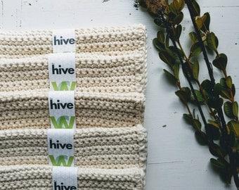 WASHCLOTH - 100% ORGANIC COTTON, handmade washcloth, wash cloth, crochet washcloth