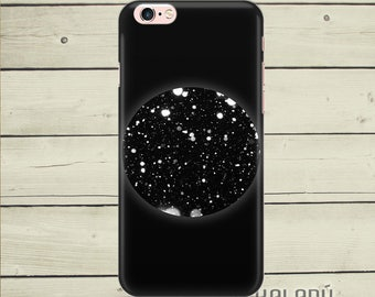 Night show iPhone 6 case, starry night sky iPhone 6s case, dramatic black iPhone case, iPhone 6 Plus case black