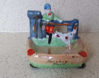 Vintage Hershey Park Ashtray Souvenir